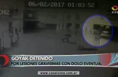 Goyak: el video del accidente que lesionó a Dana