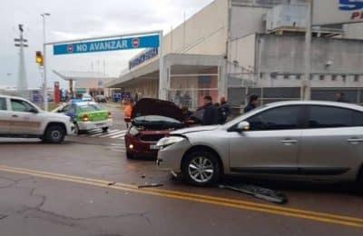 Accidente en Avenida Cabrera