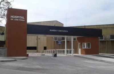 """Hospital Penna: """"La ocupación sigue siendo alta"""", dijo su director."""