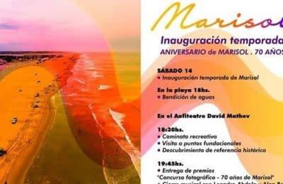 Sábado 14 se inaugurará la temporada estival en Marisol.