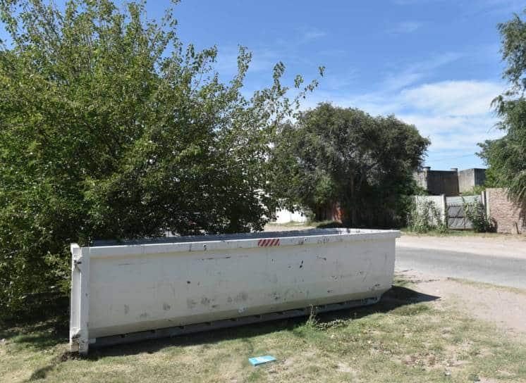 Bateas para grandes residuos y restos de poda