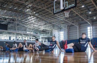 Dow Center: Bahía Basket  comenzó a entrenar en su nueva casa