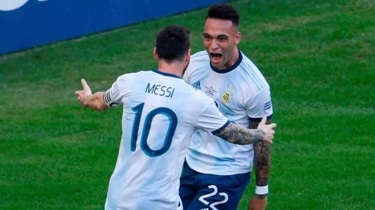 """""""Puede hacer historia al lado de Messi"""""""