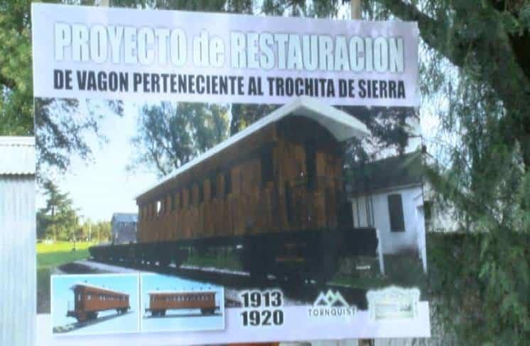 """""""La Trochita"""" de Sierra de la Ventana"""
