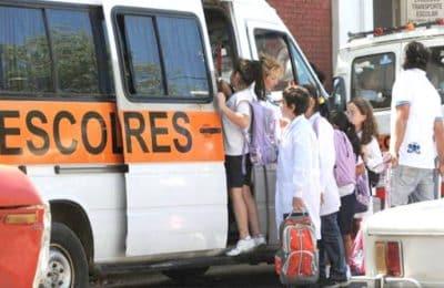 Cómo trabajaran las combis escolares con la vuelta a la escuela