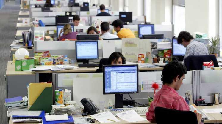 Empresas argentinas prevé reducir sus oficinas