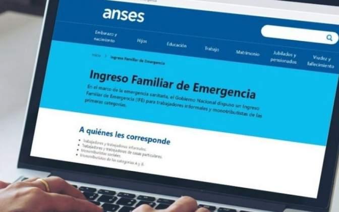 Oficializan el segundo pago del Ingreso Familiar de Emergencia