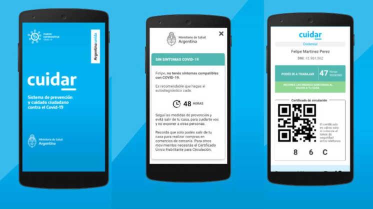 Paso a paso, cómo se obtiene el permiso de circulación con la app CuidAR