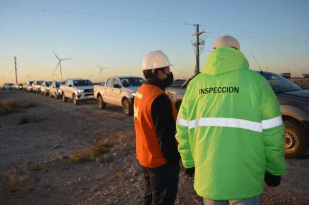 Tornquist: intensifican los controles sanitarios en los Parques Eólicos