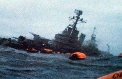 A 38 años del hundimiento del Crucero Belgrano
