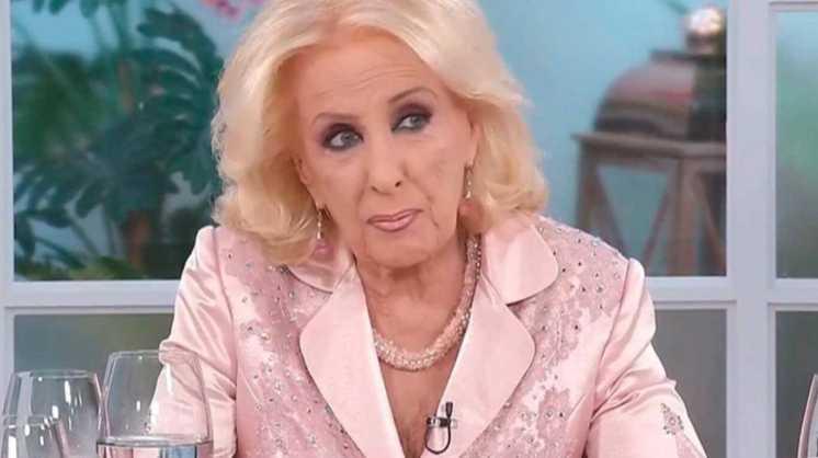 """Mirtha Legrand, a un mes de la muerte de Goldy: """"Estoy devastada"""""""
