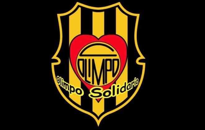 olimpo solidario, escudo olimpo