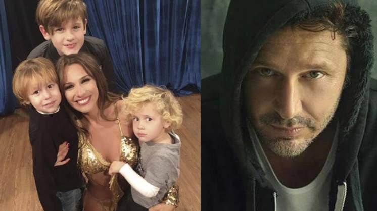 Pampita está colapsada con la crianza de sus hijos y le tiró un palito ¿a Benjamín Vicuña?