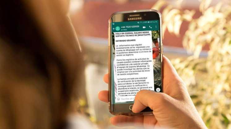 Nueva estafa por WhatsApp: se hacen pasar por el soporte técnico para robar claves de verificación