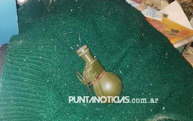 Encontraron una granada a metros del hospital