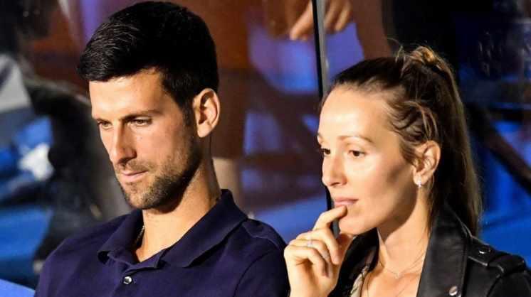 Djokovic y su esposa Jelena dieron negativo a un nuevo test de coronavirus