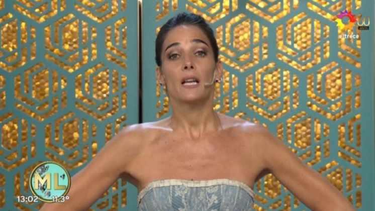 """Juana Viale impactó con un vestido estilo princesa y reafirmó su apoyo a los diseñadores nacionales: """"Acá hay un lugar para ellos"""""""