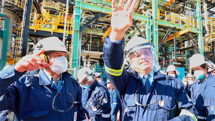 Se inauguró la primera planta refinadora de diésel premium en Argentina