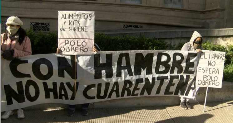 El reclamo de comedores que no reciben ayuda en cuarentena