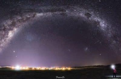Deslumbrante imagen tomada por un fotógrafo de Sierra de la Ventana