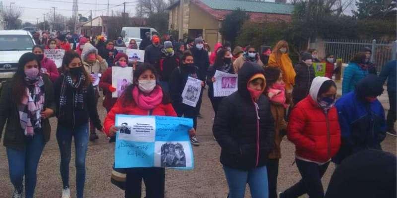 Marcha en reclamo por la aparición con vida de Facundo Astudillo Castro