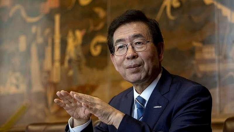 Encuentran muerto al alcalde de Seúl, tras una intensa búsqueda