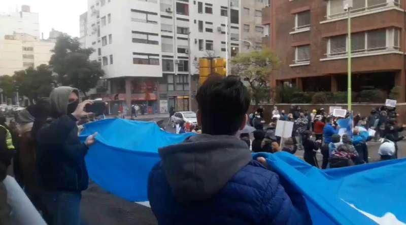 Bahía se sumó a la protesta en el #9JYoVoy