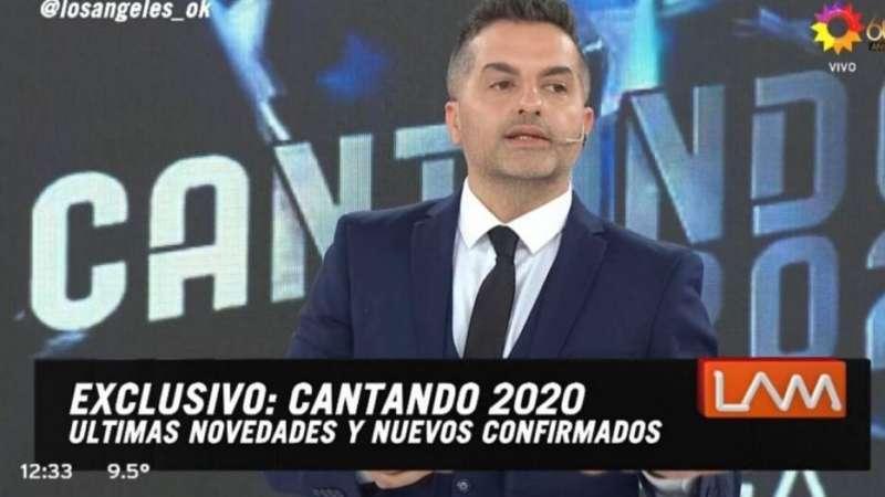 Cantando 2020: se sumaron nuevas figuras y ya son 12 los participantes confirmados