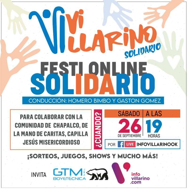 Festi Online Solidario en Villarino