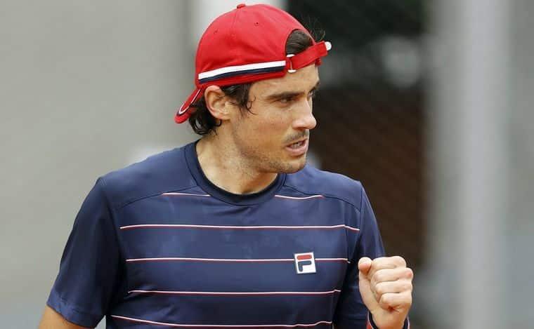 Roland Garros: Pella venció al italiano Caruso y avanzó a segunda ronda
