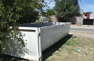 Bateas para descartar residuos voluminosos y restos de poda