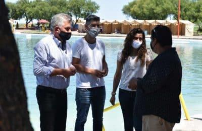 El intendente visitó el Complejo Recreativo Maldonado