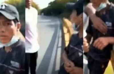 Tiraron a un joven desde un puente y subieron el video en TikTok