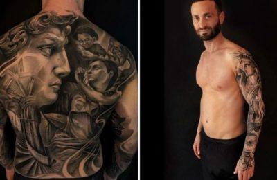Martín Baclini le dijo adiós a sus tatuajes y sorprendió con el cambio