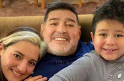 """Jana Maradona recordó a su papá con un video de Diego en el papel de Luis Miguel: """"Infinitamente enamorada"""""""