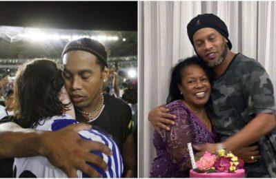 La madre de Ronaldinho murió por coronavirus: el mensaje de Lionel Messi para el futbolista