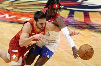 NBA: Poco de Campazzo en el triunfo de Denver