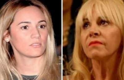 """Claudia Villafañe se cruzó en vivo con Rocío Oliva: """"Se les murió la gallina de los huevos de oro"""""""