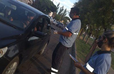 Tránsito – 876 actas y 167 vehículos retenidos en la última semana