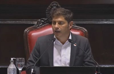 """Axel Kicillof inauguró las sesiones de la Legislatura bonaerense: """"Hay mucho daño y mucha angustia para reparar"""""""
