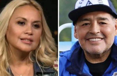 """Verónica Ojeda contó que Diego Maradona tenía ganas de empezar una nueva relación amorosa: """"Quería ser feliz y conocer a una chica"""""""