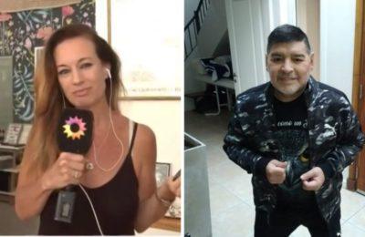"""Jazmín Garbini, el amor oculto de Diego Maradona, rompió el silencio: """"Se había obsesionado conmigo"""""""