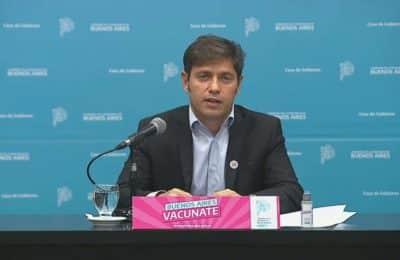 En medio de la polémica por la suspensión de clases, Kicillof postergó su visita a Bahía Blanca