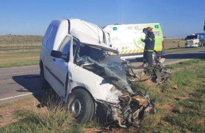 Siniestro vial en ruta 33: una persona fallecida