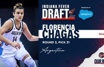 Histórico: Florencia Chagas es la primera argentina seleccionada por la NBA femenina