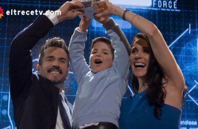 Te doy la vida, el final: Elena, Pedro y Nico, una familia feliz