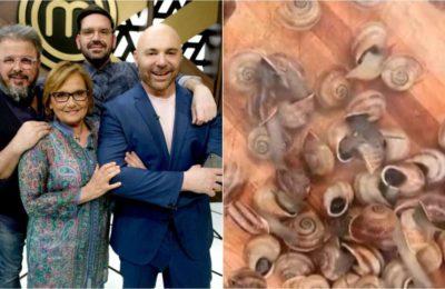 """""""MasterChef Celebrity"""": Dolli Irigoyen respondió a los veganos que criticaron la cocción de caracoles vivos"""