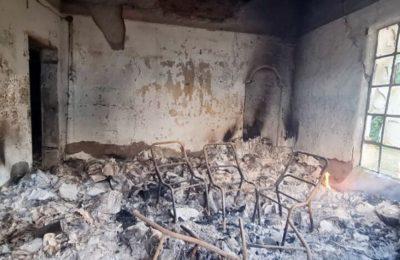 Coronel Pringles: un incendio destruyó la Escuela Agrotécnica