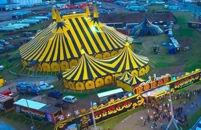 La historia del circo que quedó varado en Rosario y prestó su carpa para usarla como centro de testeo de coronavirus