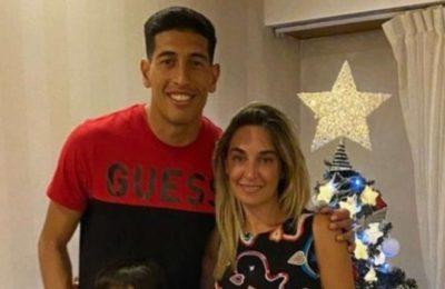 """Explosivos posteos de la mujer de Esteban Andrada contra la dirigencia de Boca: """"Mercenarios"""""""